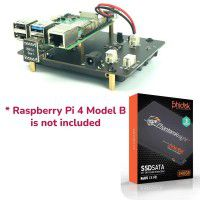"240GB 2.5"" SSD & USB3.0 SATA Shield for RPi4-w/o RPi"