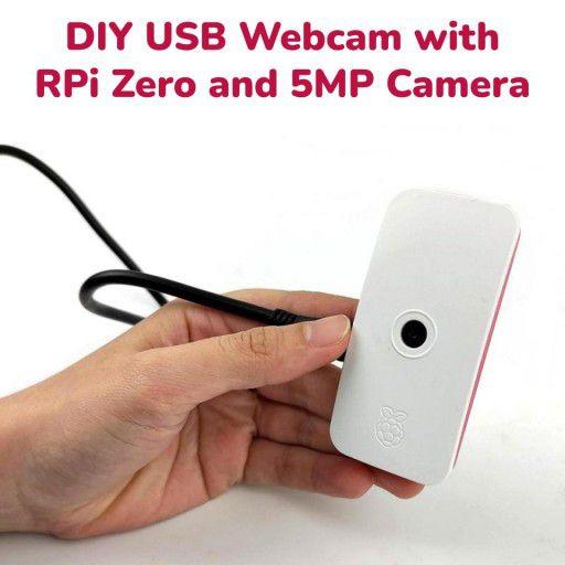 DIY USB Webcam with RPi Zero and 5MP Camera