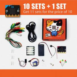 Microbit Quick Start Kit School Package (Buy 10 Get 1 Free)