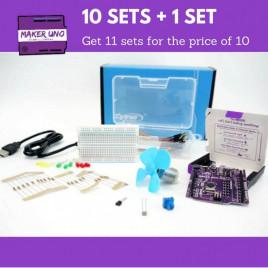 Maker Uno Edu Kit School Package (Buy 10 Get 1 Free)