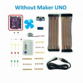 Maker UNO Learning Box  (w/o Maker UNO)