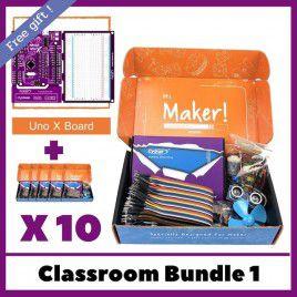 Maker UNO X Learning Box - School Bundle 1 (10 sets)