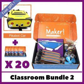Maker UNO X Learning Box - School Bundle 2 (20 sets)