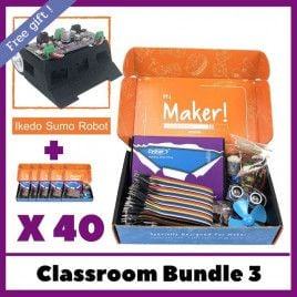 Maker UNO X Learning Box - School Bundle 3 (40 sets)
