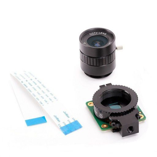 Raspberry Pi High Quality Camera + 6mm Lens
