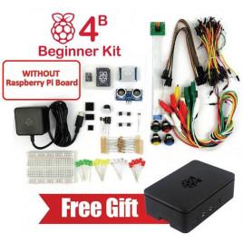 Raspberry Pi 4 Model B Beginner Kit (w/o Raspberry Pi)