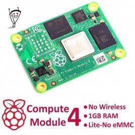 RPi Compute Module 4 - Không Wireless - 1GB RAM - Không eMMC