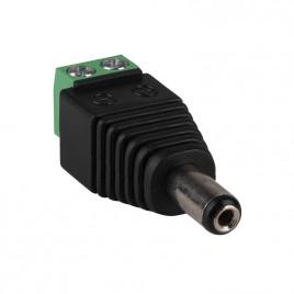 DC Plug(Male) to Screw Terminal Adapter