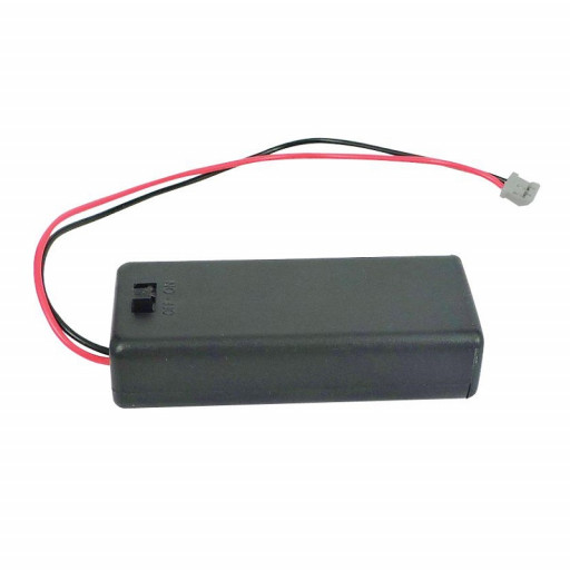 2xAAA Battery Holder with On/Off Switch