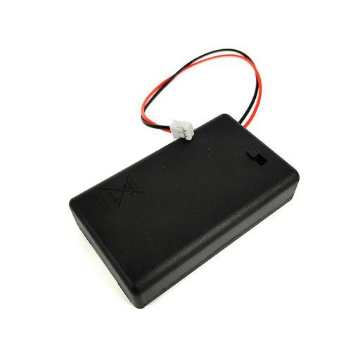 3xAAA Battery Holder with PH2.0 for Halocode