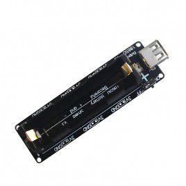 Single 18650 Dual Output 3.3V and 5V USB Module
