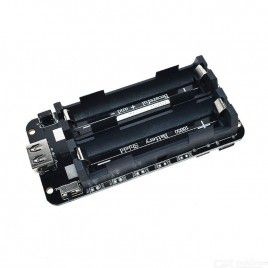 Dual 18650 Dual Output 3.3V and 5V USB Module