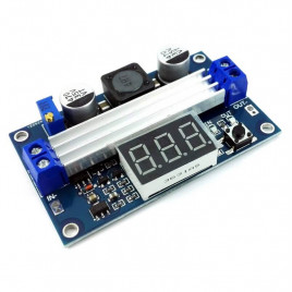 100W Adjustable DC Boost Converter with Display