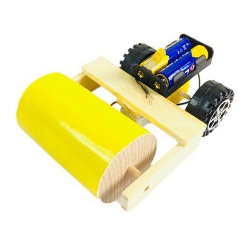 DIY Wooden Road Compactor STEM Kit