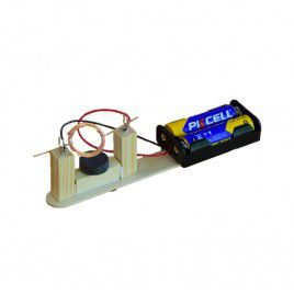 DIY Simple Magnetic DC Motor (w Batteries)