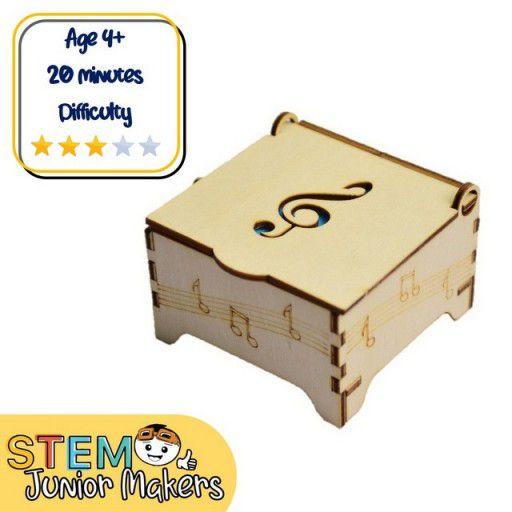 DIY Wooden Music Box STEM Kit