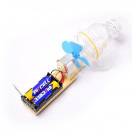 DIY Mini Water Bottle Vacuum Cleaner - with Battery