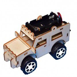 DIY Wooden Truck (with Batteries)