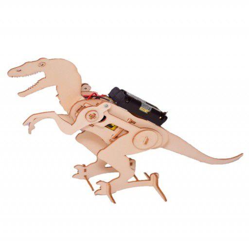 DIY Wooden Robotic Dinosaur (with Batteries)