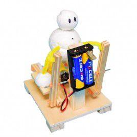 DIY Wooden Walking Exercise Machine (w Batteries)