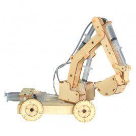 DIY Wooden Hydraulic Excavator
