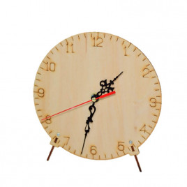 DIY Wooden Clock Round (w/o Battery)