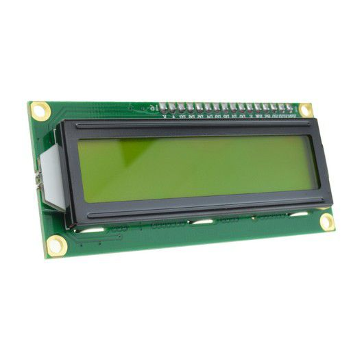 2x16 LCD with I2C Module(Yellow Green)