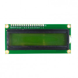 LCD with Pre-Soldered Header Pin - Green