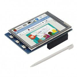 2.8-inch Touch Screen Display w buttons for RPi