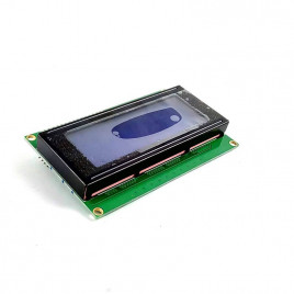 4x20 Character LCD with I2C Module (Blue)