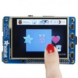 PiTFT Plus 2.8-inch Capacitive Touchscreen