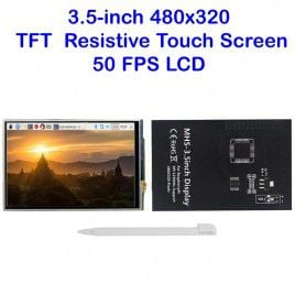 3.5-Inch 480x320 TFT 50FPS Touch Screen for Raspberry Pi