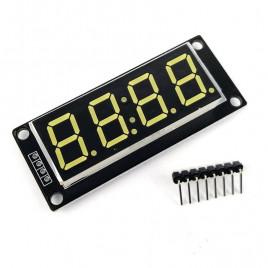 5019 4 digit 7-segment TM1637 Module - White