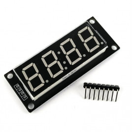 5019 4 digit 7-segment TM1637 Module - Yellow
