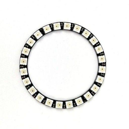 SK6812 NeoPixel Addressable LED Ring-24 LED