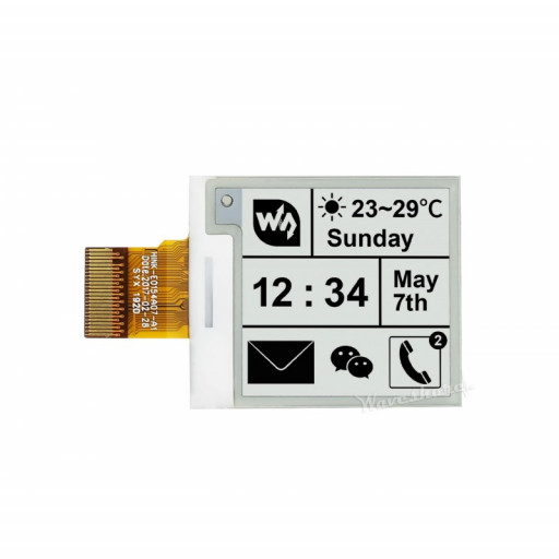 1.54 inch E-Ink Raw Display Panel