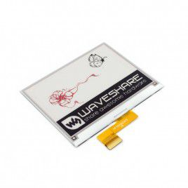 4.2 inch E-Ink Raw Display Panel - Tri-color (Red)
