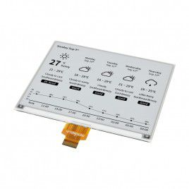 5.83 inch E-Ink Raw Display Panel - Dual-color