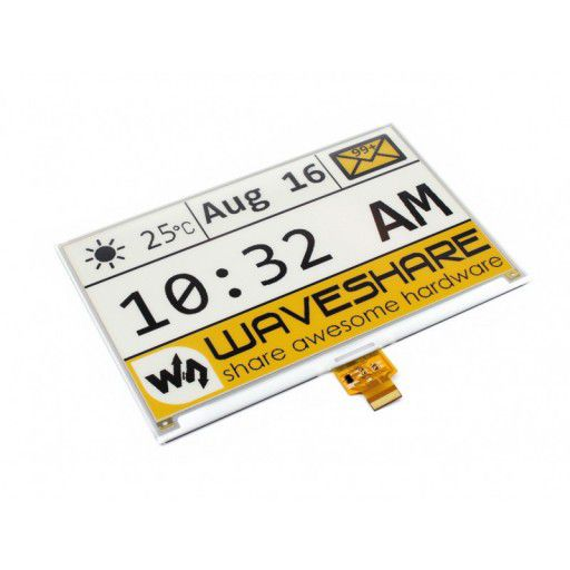 7.5 inch E-Ink Raw Display Panel - Tri-color (Yellow)
