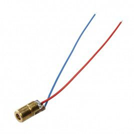 6mm Laser LED 650nm, 3V 5mW