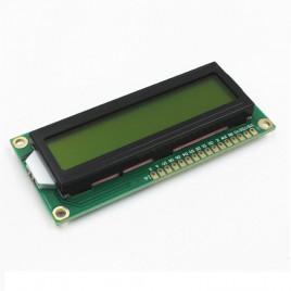 LCD (16x2) Yellow Backlight