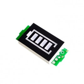Lithium Battery Voltage Indicator LED Display