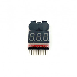 2 in 1 LiPo Battery Indicator and Alarm