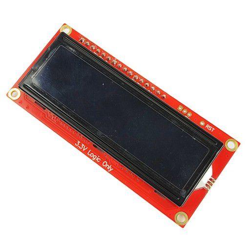 SparkFun 16x2 3.3V SerLCD - RGB on Black