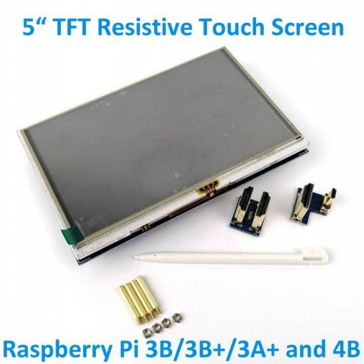 5 Inches TFT Touch Screen For RPI3 and RPI4B