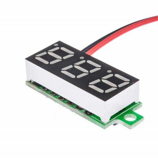 4.8 - 30V 3-Digit 7-Seg Voltmeter Display