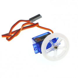 360 Digital Servo(EF90D) with wheel and tire