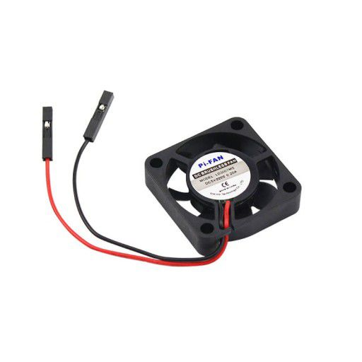 3V-5V 0.2A Cooling Fan for RPi with Screws