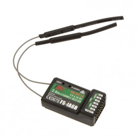 FlySky 3 Channels RC Receiver (Compatible with FS-GT3B)