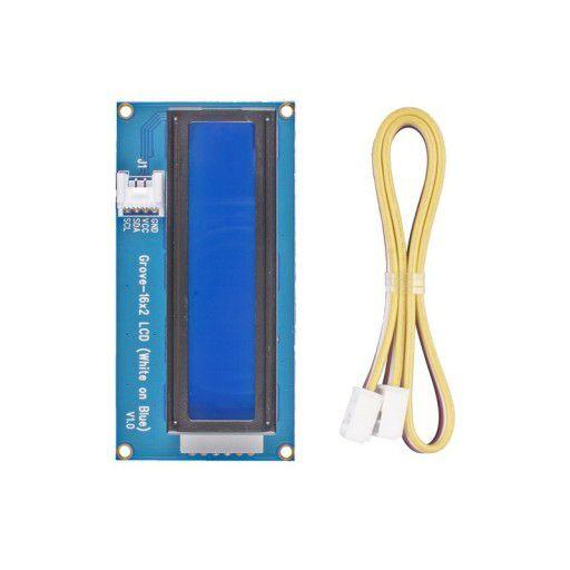 Grove - 16 x 2 LCD (White on Blue)